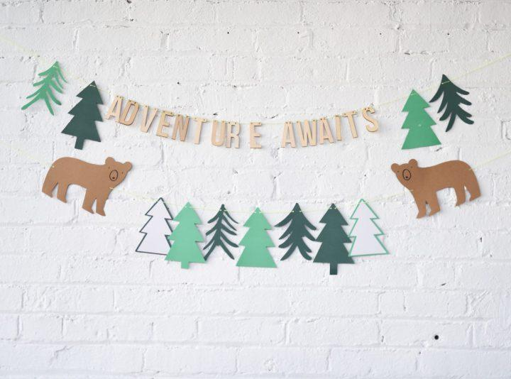 Adventure Awaits Shower Baby Shower Decorations Celebrated