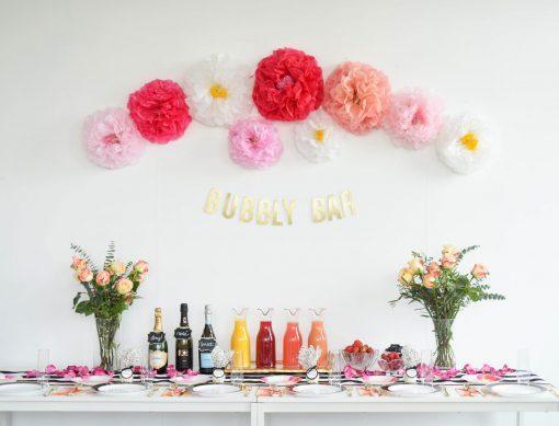 Bubbly Bar TTL party