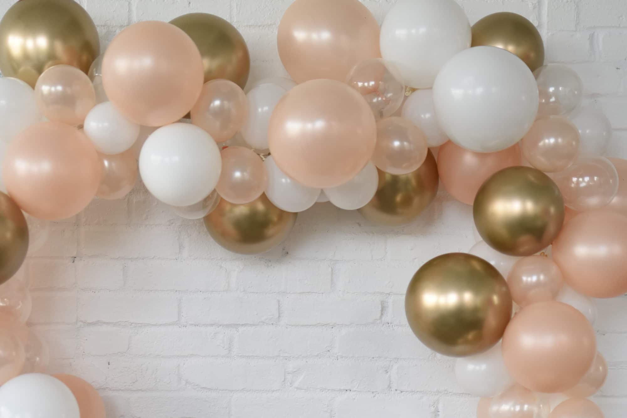 Blush Pearl Mix Balloon Garland