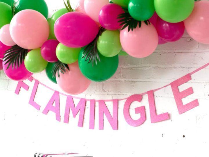 Let's Flamingle Shower