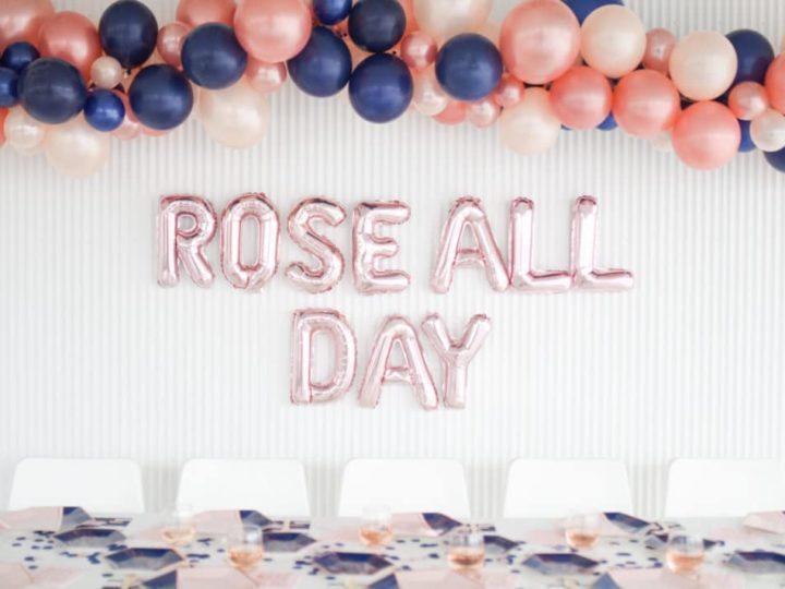 Rosé All Day Bachelorette Party
