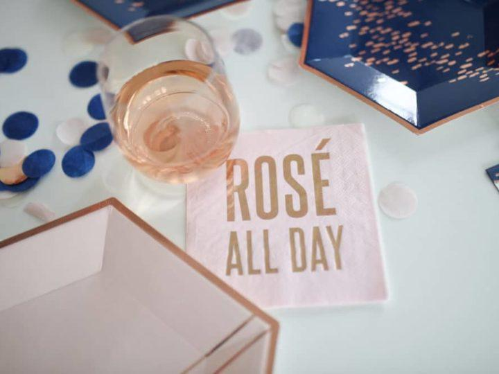 Rosé All Day Shower